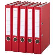 Sigma Ordner A4 PP 5 cm rood 5 stuks