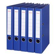 Sigma Ordner A4 PP 5 cm blauw 5 stuks