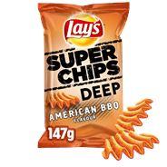 Lay's Superchips Deep American BBQ 9 x 147 gr