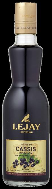 Lejay Crème de cassis 6 x 500 ml