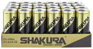 Shakura Energy drink blik 24 x 25 cl