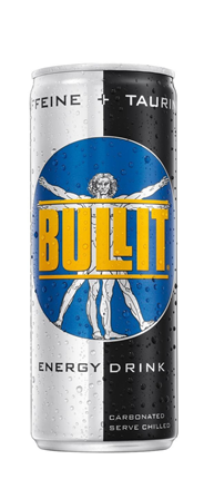 Bullit Energy drink blik 24 x 250 ml