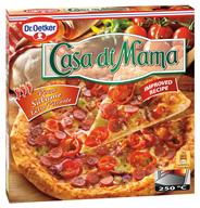 Dr. Oetker Casa di Mama pizza salame extra piccante 415 gram