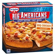 Dr. Oetker  Pizza Big Americans BBQ chicken 460gr