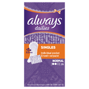 Always Inlegkruisjes normal singles 28 stuks
