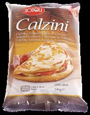 Boboli Calzini Salami, kaas en tomaat 145 gram