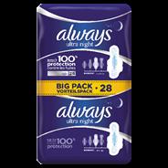 Always 4015400755692 28stuk(s) Maandverband hygieneproduct vrouw