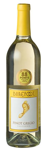 Barefoot Pinot Grigio 6 x 750 ml