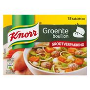 Knorr Groentebouillon 15 x 10 gram