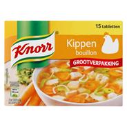 Knorr Kippenbouillon grootverpakking 15 x 10 gram