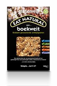 Eat Natural krokant geroosterde ontbijtgranen met boekweit 500g
