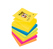 Post-it Super sticky Z-notes kleurenset Rio 76 x 76 mm