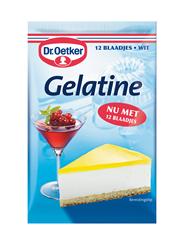 Dr. Oetker Gelatine wit 25 x 12 stuks