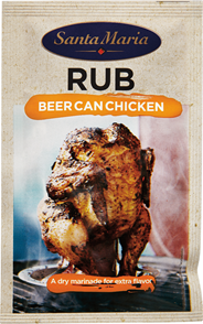 Santa Maria BBQ rub beer can chicken 22 gram
