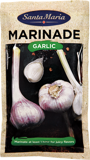 Santa Maria BBQ marinade garlic 75 gram