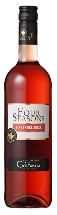 Four Seasons Zinfandel Rose 750 ml