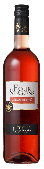 Four Seasons White Zinfandel Rosé 6 x 750 ml