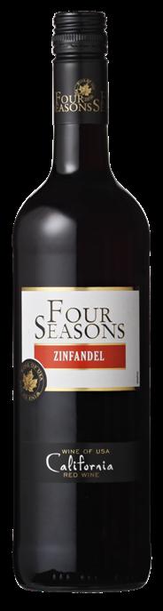 Four Seasons Red Zinfandel 6 x 750 ml