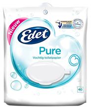 Edet Vochtig toiletpapier Pure 40 vellen