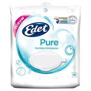 Edet Pure Vochtig Toiletpapier 40 Stuks