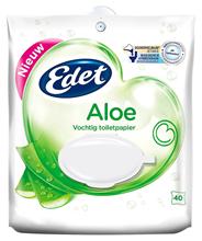 Edet Vochtig toiletpapier Aloe 40 vellen