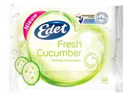 Edet Vochtig toiletpapier Fresh cucumber 42 vellen