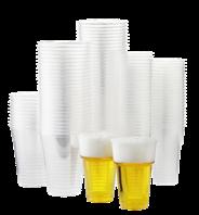 Horeca Select PP Beker transparant 300 ml 100 stuks