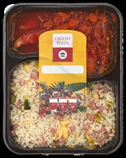 Orient Plaza Babi pangang met nasi 500 gram