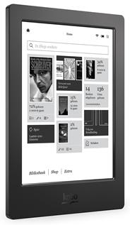 """Kobo Aura H20 6.8"""" E-reader zwart"""