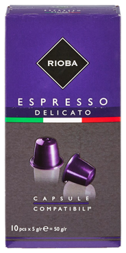 Rioba Capsules delicato 10 x 5 gram