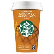 Starbucks Chilled Classics qandi caramel 220mL beker