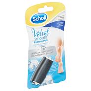Scholl Velvet smooth express pedi diamantkristallen 2 verwisselbare rollers