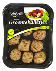 Vegafit Vegane groenteballetjes