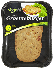 Vegafit Vegane groenteburger 150 gram
