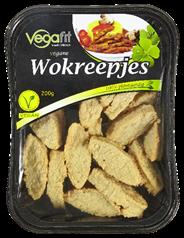 Vegafit Vegane wokreepjes 200 gram
