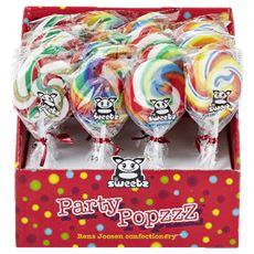 Holland Foodz I Love Likz Psychy Pops 24 x 17 g