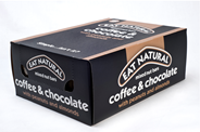 Eat Natural Coffee & chocolate met pinda's en amandelen 12 x 45 gram