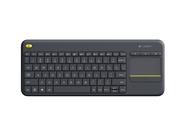 Logitech K400 plus RF Draadloos toetsenbord zwart