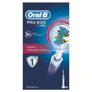 Oral-B Pro 600 Floss action Oplaadbare elektrische tandenborstel