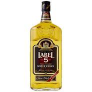 Label 5 Scotch whisky 6 x 1 liter