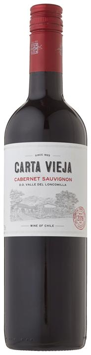 Carta Vieja Cabernet Sauvignon 6 x 750 ml