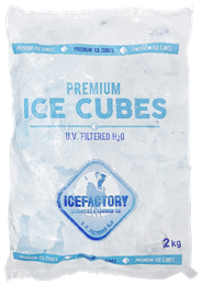 Icefactory IJsblokjes 6 x 2 kg