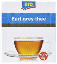 Aro Earl grey thee 100 x 2 gram
