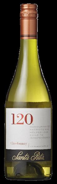 Santa Rita 120 Chardonnay 6 x 750 ml