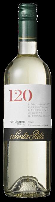 Santa Rita 120 Sauvignon Blanc 6 x 750 ml