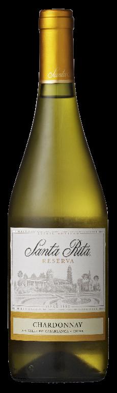Santa Rita Reserva chardonnay 6 x 750 ml