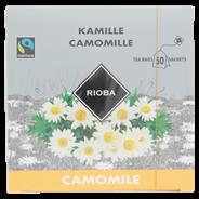 Rioba Fairtrade kamillethee 50 x 1,5 gram