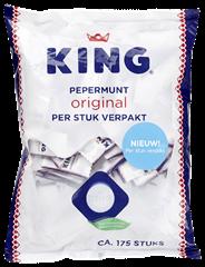 King Pepermunt per stuk verpakt 175 stuks