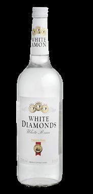White Diamonds Rum wit 1 liter