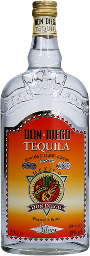 Don Diego Tequila silver 6 x 70 cl